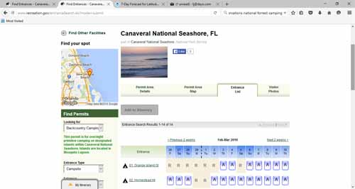 Online Reservations for Mosquito Lagoon - Dayo Scuba Orlando Florida